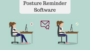 5 Free Posture Reminder Software For Windows