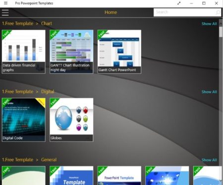 Windows 10 Free Powerpoint Templates For Presentations