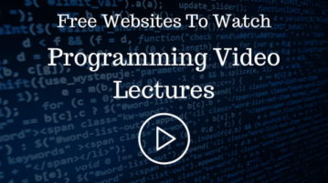 5 Free Websites To Watch Programming Video Lectures