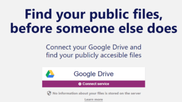 see your google drive files available publicly