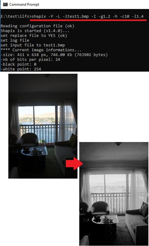 shapix increase lightness in image