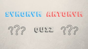Play Synonym Antonym Quiz Online With These Free Websites