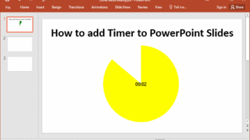 How to Add Timer To PowerPoint Slides