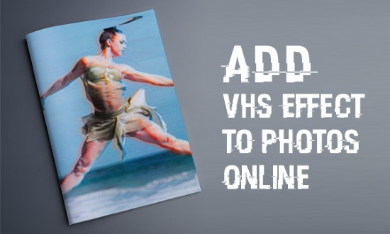 vhs photo effect