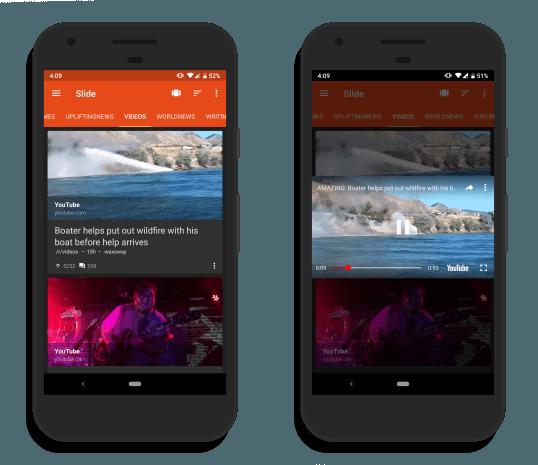 Slide: Reddit Video Player app for Android