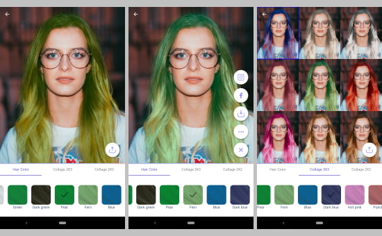 5 Free Hair Color Changer Android Apps