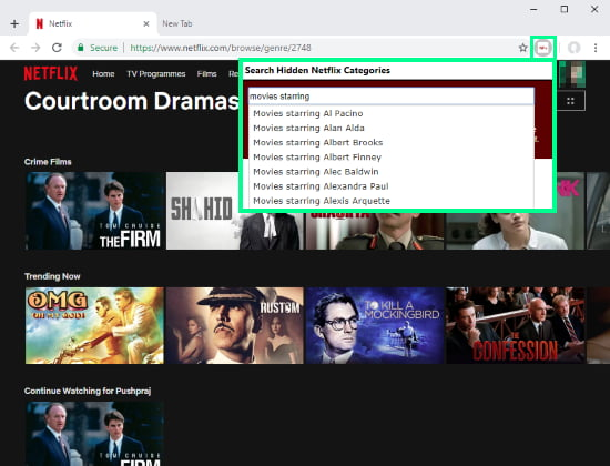 access Netflix hidden genres