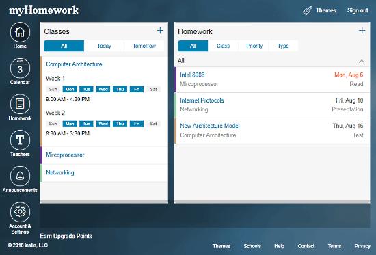 Homework websites for students