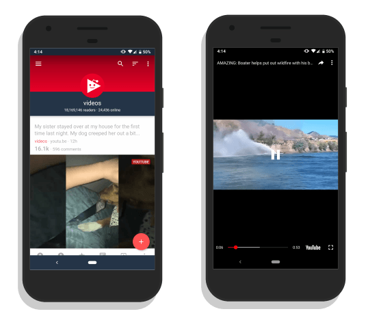 Boost: Reddit Video Player app for Android