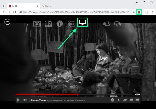 add video filters on Netflix