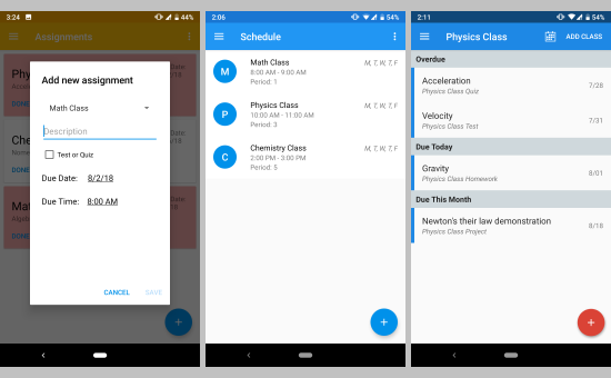 5 free homework planner apps for students