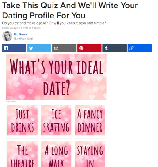 Dating Test