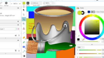 Free Browser Based Online Vector Graphics Creator, Editor with Design Sharing