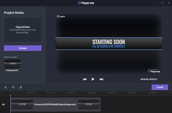 free game recorder with live stream