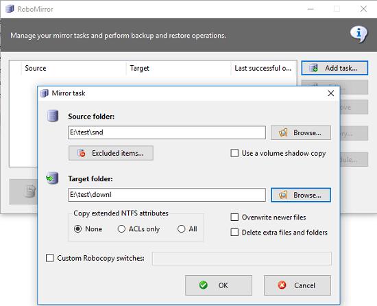 5 Free Robocopy GUI for Windows