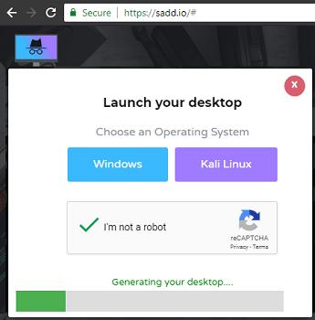 SADD choose OS for virtual desktop