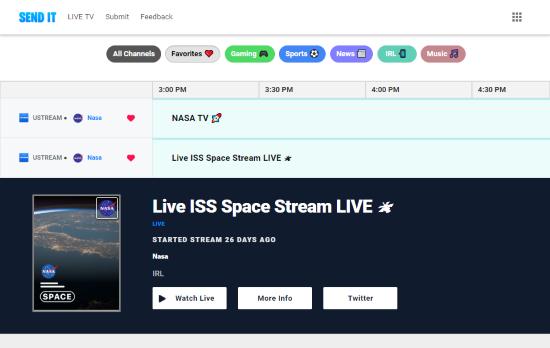 live streams directory