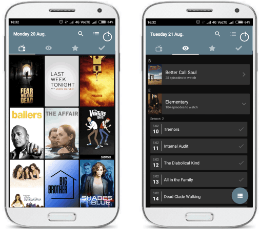 Showly free tv shows tracker for android
