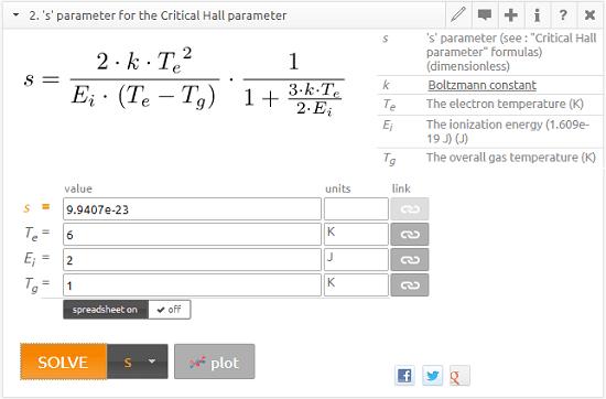 Solve Engineering, Scientific Equations Online, Create Custom Formula