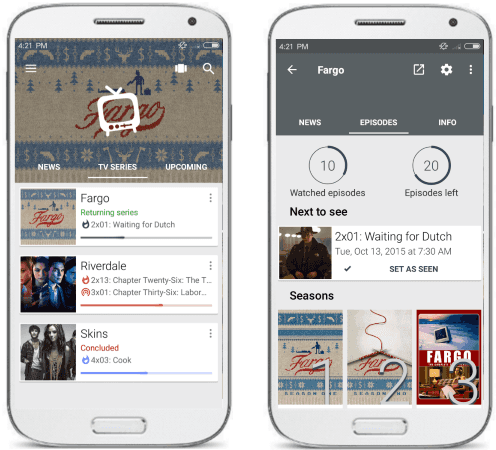 Track TV Shows on Android with These 5 Free TV Shows Tracker