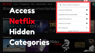 Access Netflix Hidden Categories on Chrome With These Free Extensions