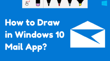 How To Draw In Windows 10 Mail App