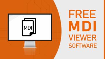 free mdi viewer software