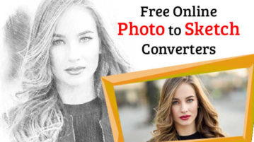 free online photo to sketch converters