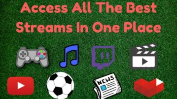 Free Website to Get List of Live Streams For Sports, News, Gaming, Etc.