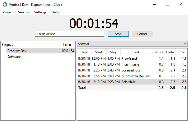 7 Free Open Source Time Tracking Software