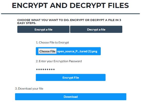 free online file encryptor