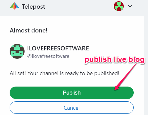 How to Convert Telegram Channel into a Live Blog