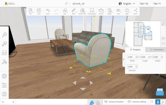 free online 3d home designer