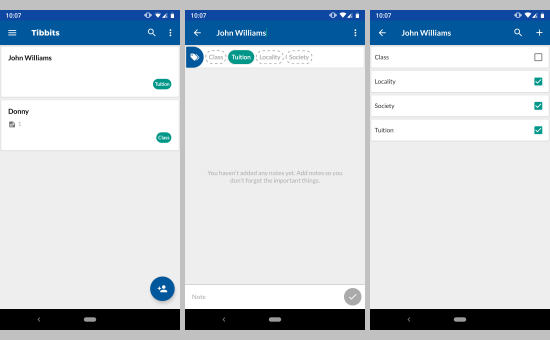 remember names with this free Android apps