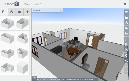 interior home design 3d online