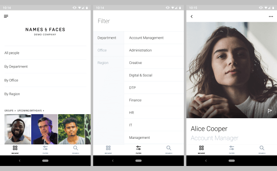 free Android apps to help you remember names
