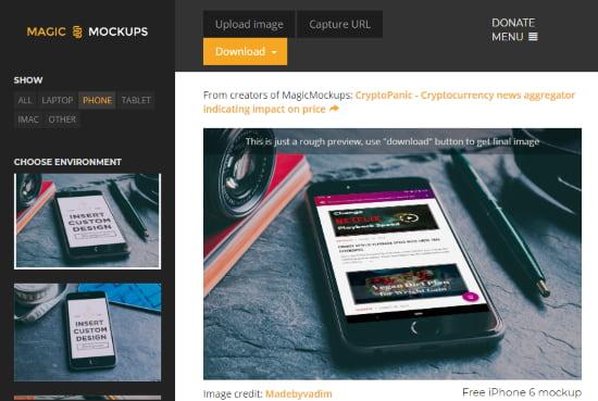 smartphone mockups free