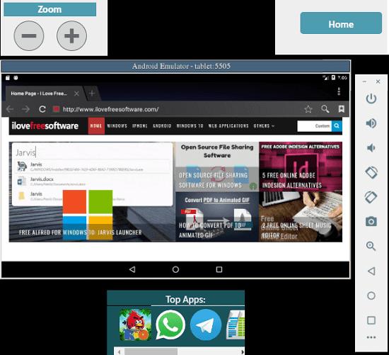 APkOnline Android Emulator