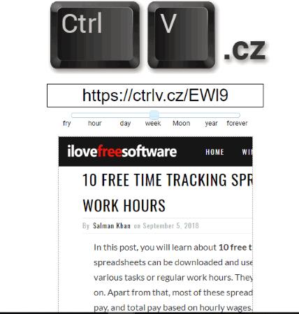 CtrlV.cz website