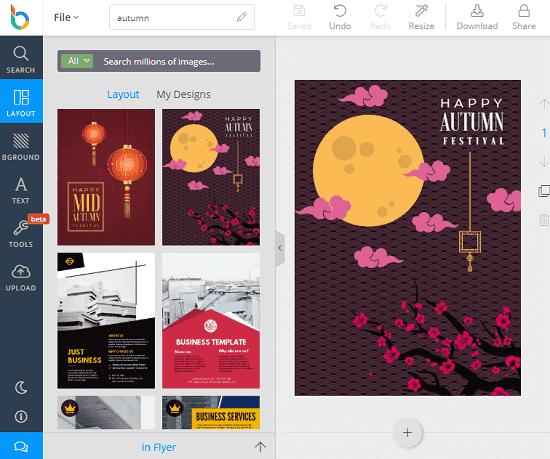 DesignBold free InDesign alternative