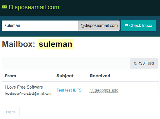 Disposeaemail free open source disposable email service