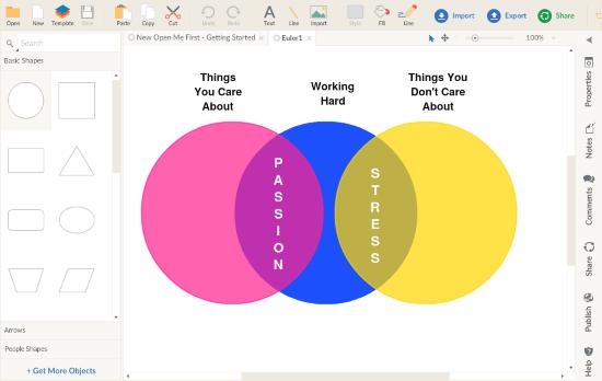 make Euler diagram online free