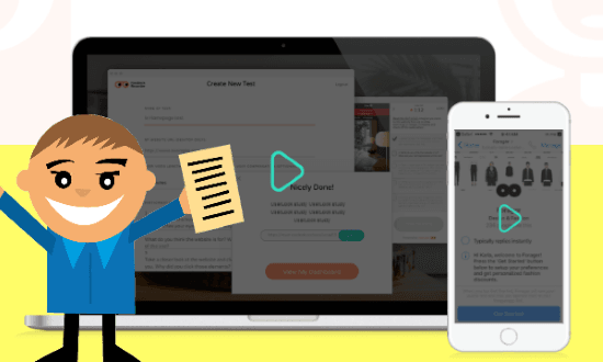 Let Users Create Remote Testing Videos by Sharing a Link