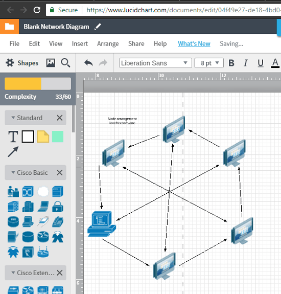 Lucidchart free network topology diagram maker
