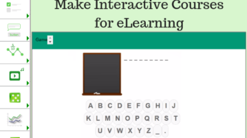 Open Source Software To Make Interactive Courses For eLearning