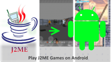 Play Old J2ME Games on Android