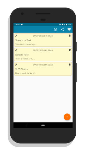 note taking Android app with OCR
