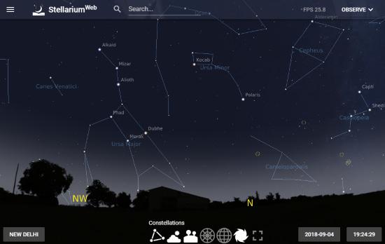 Stellarium Web Client