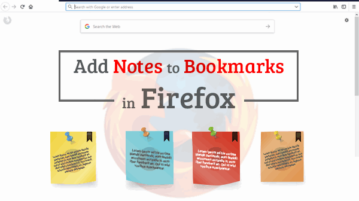 add notes to firefox bookmarks