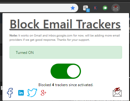 block email trackers